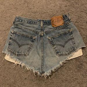 Vintage Levi's Denim Shorts 25/26